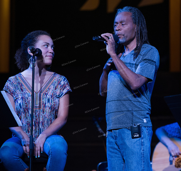Madison and Bobby McFerrin at the Orpheum Theatre June 22, TD Vancouver International Jazz Festival