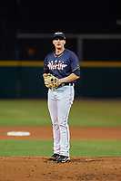 Lakeland Flying Tigers pitcher Kyle Dowdy (21) during the Florida State League All-Star Game on June 17, 2017 at Joker Marchant Stadium in Lakeland, Florida.  FSL North All-Stars defeated the FSL South All-Stars  5-2.  (Mike Janes/Four Seam Images)