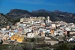 Spain, Costa Blanca, Planes de la Baronia: Village with castle in Gallinera Valley | Spanien, Costa Blanca, Planes de la Baronia: traditionelles Bergdorf mit Burg im Vall de Gallinera