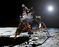 July 1969, The LEM on the Moon