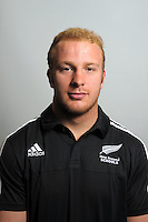 Liam Giltrap. The 2015 New Zealand Schools rugby union team headshots at NZ Sports Institute, Palmerston North, New Zealand on Friday, 18 September 2015. Photo: Dave Lintott / lintottphoto.co.nz