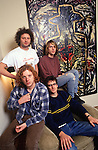 Various portrait sessions of the rock band, Mudhoney.