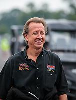 Aug 19, 2018; Brainerd, MN, USA; NHRA funny car driver Bob Bode during the Lucas Oil Nationals at Brainerd International Raceway. Mandatory Credit: Mark J. Rebilas-USA TODAY Sports