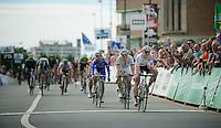 winner: André Greipel (DEU)<br /> <br /> 1st Brussels Cycling Classic<br /> Brussels - Brussels: 197km