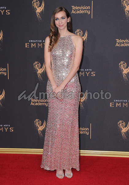 10 September  2017 - Los Angeles, California - Lauren Lapkus. 2017 Creative Arts Emmys - Arrivals held at Microsoft Theatre L.A. Live in Los Angeles. Photo Credit: Birdie Thompson/AdMedia