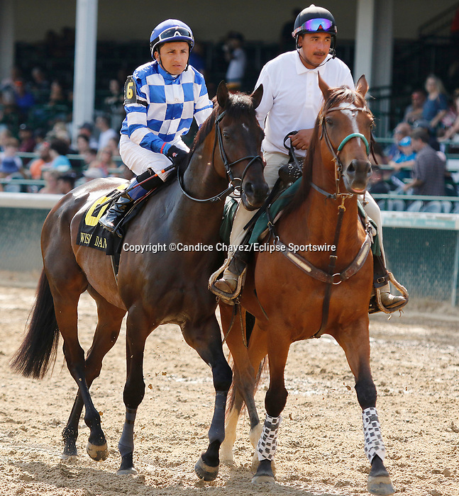 June 26,, 2021: #6 Kentucky Ghost in the Wise Dan Stakes (Grade 2) on the turf at Churchill Downs.  Louisville, KY on June 26, 2021.  Candice Chavez/ESW/CSM