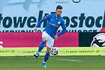 20.02.2021, xtgx, Fussball 3. Liga, FC Hansa Rostock - SV Waldhof Mannheim, v.l. Manuel Farrona Pulido (Hansa Rostock, 19) <br /> <br /> (DFL/DFB REGULATIONS PROHIBIT ANY USE OF PHOTOGRAPHS as IMAGE SEQUENCES and/or QUASI-VIDEO)<br /> <br /> Foto © PIX-Sportfotos *** Foto ist honorarpflichtig! *** Auf Anfrage in hoeherer Qualitaet/Aufloesung. Belegexemplar erbeten. Veroeffentlichung ausschliesslich fuer journalistisch-publizistische Zwecke. For editorial use only.