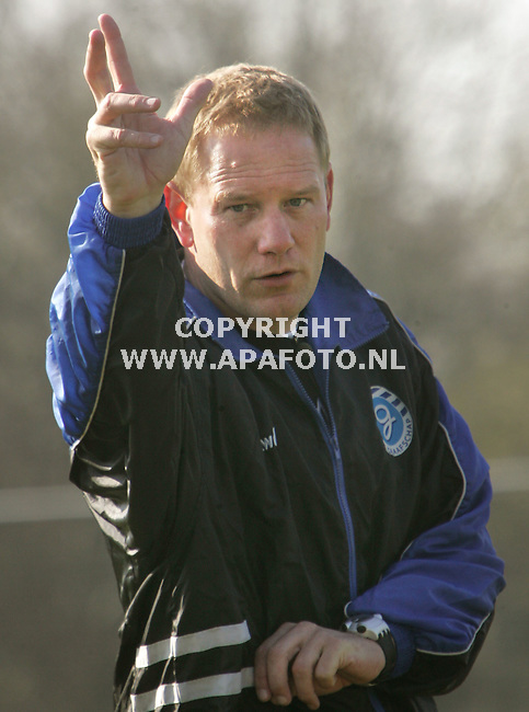 Doetinchem, 280307<br /> Graafschap Trainer Jan de Jonge<br /> Foto; Sjef Prins - APA Foto