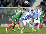 CD Leganes' Youssef En-Nesyri (R) and Deportivo Alaves' Martin Aguirregabiria  during La Liga match. November 23,2018. (ALTERPHOTOS/Alconada)