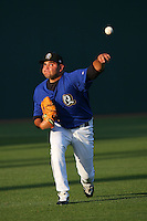 May 14 2009: Robert Fish of the Rancho Cucamonga Quakes before game against the High Desert Mavericks at The Epicenter in Rancho Cucamonga,CA.  Photo by Larry Goren/Four Seam Images