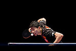 Long Ma of China vs Youngsik Jeoung of South Korea at their Women's Singles Semi Final match during the Seamaster Qatar 2016 ITTF World Tour Grand Finals at the Ali Bin Hamad Al Attiya Arena on 10 December 2016, in Doha, Qatar. Photo by Victor Fraile / Power Sport Images