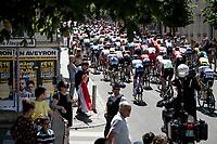 peloton through Rodez<br /> <br /> Stage 10: Saint-Flour to Albi(217km)<br /> 106th Tour de France 2019 (2.UWT)<br /> <br /> ©kramon