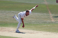 Stuart Meaker bowls for Sussex during Kent CCC vs Sussex CCC, Bob Willis Trophy Cricket at The Spitfire Ground on 9th August 2020