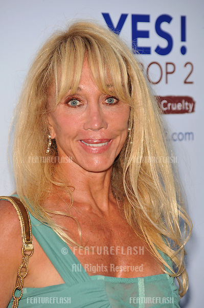 Cindy Landon at a celebrity gala in Beverly Hills to support Yes! on Prop 2 campaign, to provde support for the California ballot measure to stop cruel and inhumane treatment of farm animals..September 28, 2008  Los Angeles, CA.Picture: Paul Smith / Featureflash