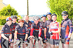 The Chain Gang cycling team Tralee that competed in the annual Currow CC race on Sunday l-r: Brenda Conway, Darragh Crowley, Jennifer Crowley, Neilus Daly, Tim Houlihan, Paul Byrne, George Poff, Aileen Clifford and Dan O'Connor       Copyright Kerry's Eye 2008