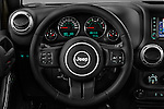 Car pictures of steering wheel view of a 2016 JEEP Wrangler-Unlimited Rubicon 5 Door SUV Steering Wheel