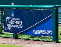 STANFORD, CA - JUNE 4: #RoadtoOmaha during a game between North Dakota State and Stanford Baseball at Sunken Diamond on June 4, 2021 in Stanford, California.