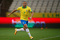 9th October 2020; Arena Corinthians, Sao Paulo, Sao Paulo, Brazil; FIFA World Cup Football Qatar 2022 qualifiers; Brazil versus Bolivia; Richarlison of Brazil