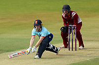 Adam Wheater of Essex gets hit by the ball whilst batting during Essex Eagles vs Cambridgeshire CCC, Domestic One-Day Cricket Match at The Cloudfm County Ground on 20th July 2021