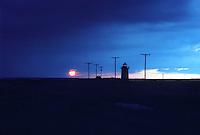Lighthouse sunset. Cape Cod Lighthouse Sunset.