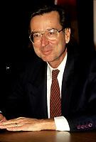 Montreal (QC)CANADA - File Photo, circa 1991<br /> <br /> Liberal Provincial Leader Robert Bourassa