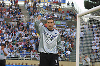 SAN JOSE, CA - JULY 27: MLS All Stars at the Skills Challenge before the 2001 All Star Game at Spartan Stadium on July 27, 2001 in San Jose, California.