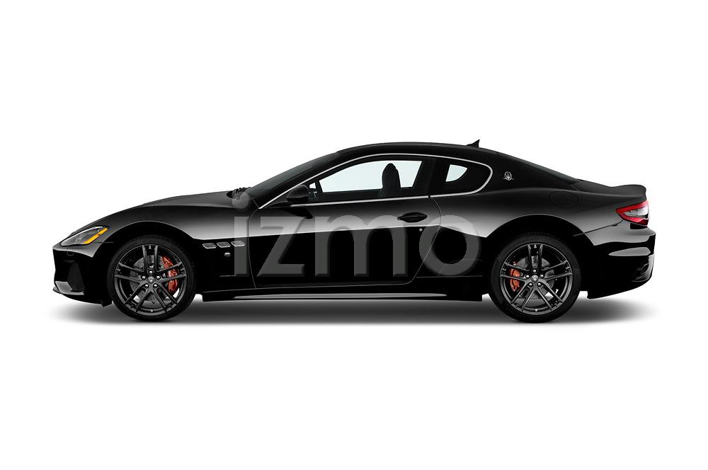 Car driver side profile view of a 2018 Maserati GranTurismo Automatic 2 Door Coupe