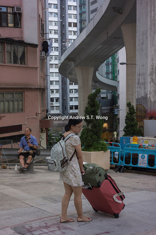 Mid-Levels, Western District, Hong Kong - June 2017
