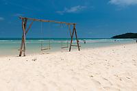 Seesaw In Bai Sao Beach, Phu Quoc, Vietnam