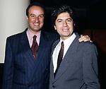 ENRICO COVERI E WILLIY MOLCO<br /> FESTA ENRICO COVERI AL TOULA'<br /> MILANO 1989