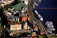 Área portuária de Manaus e prédio histórico da Alfândega<br />Amazonas Brasil<br />2004<br />©Foto: Marcello Lourenço/Interfoto