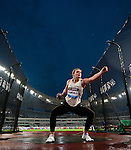 SHANGHAI, CHINA - MAY 19:  Dani Samuels of Australia competes to win the Women DiscusThrow during the Samsung Diamond League on May 19, 2012 at the Shanghai Stadium in Shanghai, China.  Photo by Victor Fraile / The Power of Sport Images