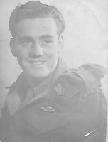 BNPS.co.uk (01202) 558833. <br /> Pic: Bosleys/BNPS<br /> <br /> Pictured: Sergeant Samuel Rushworth. <br /> <br /> Never before seen photos taken by a fishmonger turned SAS hero behind enemy lines in World War Two have come to light 76 years on.<br /> <br /> Sergeant Samuel Rushworth, of the 2nd Special Air Service, was dropped into occupied France two days before D-Day in June 1944.<br /> <br /> They were tasked with disrupting German reinforcements dispatched to Normandy following the Allied landings.