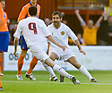 05/08/2010   Copyright  Pic : James Stewart.sct_jsp006_Motherwell_v_Aalesund  .::  JAMIE MURPHY CELEBRATES WITH KEITH LASLEY AFTER HE SCORES THE FIRST ::  .James Stewart Photography 19 Carronlea Drive, Falkirk. FK2 8DN      Vat Reg No. 607 6932 25.Telephone      : +44 (0)1324 570291 .Mobile              : +44 (0)7721 416997.E-mail  :  jim@jspa.co.uk.If you require further information then contact Jim Stewart on any of the numbers above.........