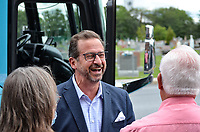 le chef du Bloc le chef du Bloc Québécois, Yves-François Blanchet vote  par anticipation à Chambly, le 10 septembre 2021.<br /> <br /> Photo :  Agence Quebec Presse - Mathieu Tye
