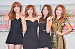 Secret, Jun 14, 2013: Tokyo, Japan: South Korean girl band Secret, (L-R) Han Sun Hwa, Jun Hyo Sung, Song Jie Un and Jung Ha Na attend a press conference in Tokyo, Japan, on June 14, 2013.