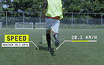 JOGO, an insole with tracking data for football coaches