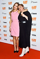 "16 September 2021 - Toronto, Ontario, Canada - Lily-Rose Depp, Camille Griffin. 2021 Toronto International Film Festival - ""Silent Night"" Premiere held at Roy Thomson Hall. Photo Credit: Brent Perniac/AdMedia"