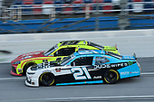 #19: Brandon Jones, Joe Gibbs Racing, Toyota Supra Menards/Atlas, #21: Anthony Alfredo, Richard Childress Racing, Chevrolet Camaro DUDE Wipes