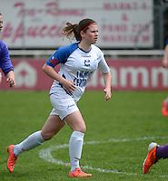 Finale Beker van West-Vlaanderen Vrouwen FC Knokke - SK Opex Girls Oostende :  Ruth Wille <br /> foto DAVID CATRY | Sportpix.be