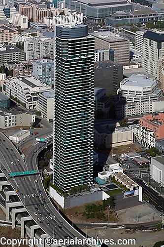 aerial photograph One Rincon Hill San Francisco