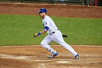 Los Angeles Dodgers Yasmani Grandal bats during the MLB All-Star Game on July 14, 2015 at Great American Ball Park in Cincinnati, Ohio.  (Mike Janes/Four Seam Images)