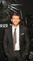 NEW YORK CITY, NY, USA - NOVEMBER 20: Scott Eastwood arrives at the Hugo Boss Prize 2014 held at the Guggenheim Museum on November 20, 2014 in New York City, New York, United States. (Photo by Celebrity Monitor)