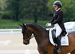 April 23, 2021: #38 Harbour Pilot and rider Hannah Sue Burnett from the USA in the 5* Dressage  at the Land Rover Three Day Event at the Kentucky Horse Park in Lexington, KY on April 23, 2021.  Candice Chavez/ESW/CSM