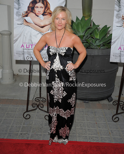 "Rachael Harris attends the L.A. Premiere of ""A Little Help"" held at Sony Pictures Studios in Culver City ,California on July 14,2011                                                                               © 2011 DVS / Hollywood Press Agency"
