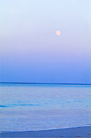 Moonrise, Kailua beach, Oahu