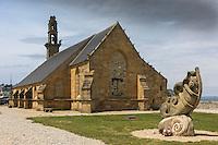 France, Bretagne, (29), Finistère, Presqu'île de Crozon, Camaret-sur-Mer: Chapelle Notre-Dame de Rocamadour