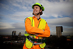 Pix: Shaun Flannery/sf-pictures.com..COPYRIGHT PICTURE>>SHAUN FLANNERY>01302-570814>>07778315553>>..11th March 2009.............Mining apprentice Adam Fletcher pictured at Maltby Colliery, nr. Rotherham, South Yorkshire.