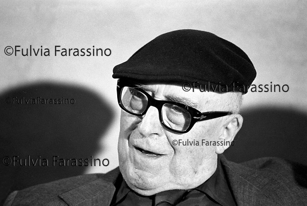 Festival di Venezia 1982, Cesare Zavattini