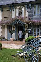 """Europe/France/Normandie/Basse-Normandie/14/Calvados/Honfleur: Hôtel-restaurant relais et château """"La Ferme Saint-Siméon"""""""